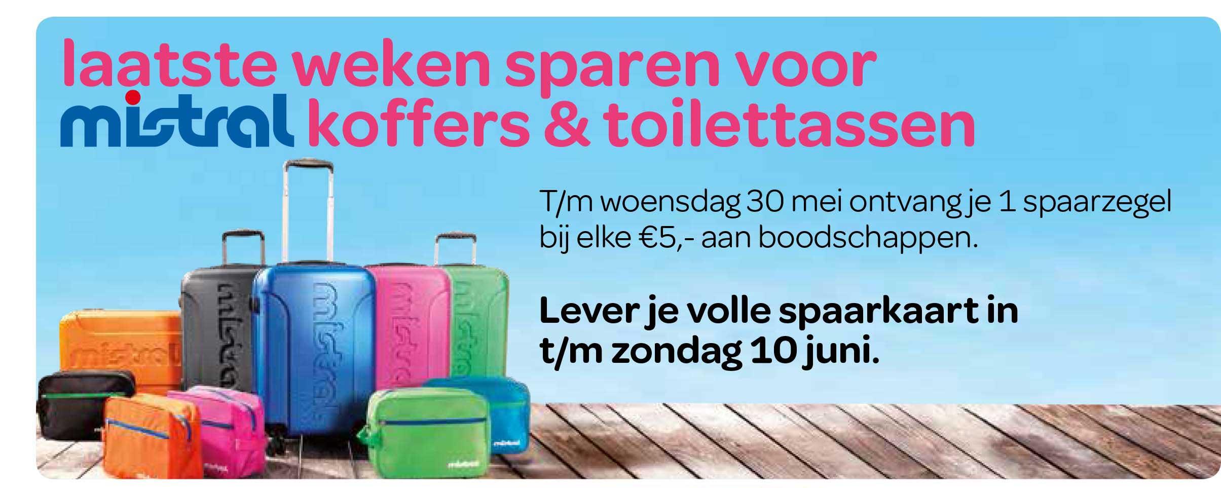 Spar Laatste Weken Sparen Voor Mistral Koffers & Toilettassen