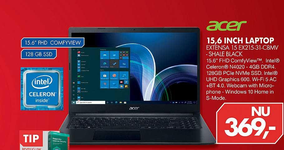 Vobis Acer 15,6 Inch Laptop Extensa 15 EX215-331-C8MV