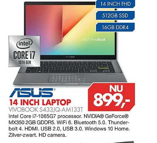 Vobis Asus 14 Inch Laptop Vivobook S433JQ-AM133T