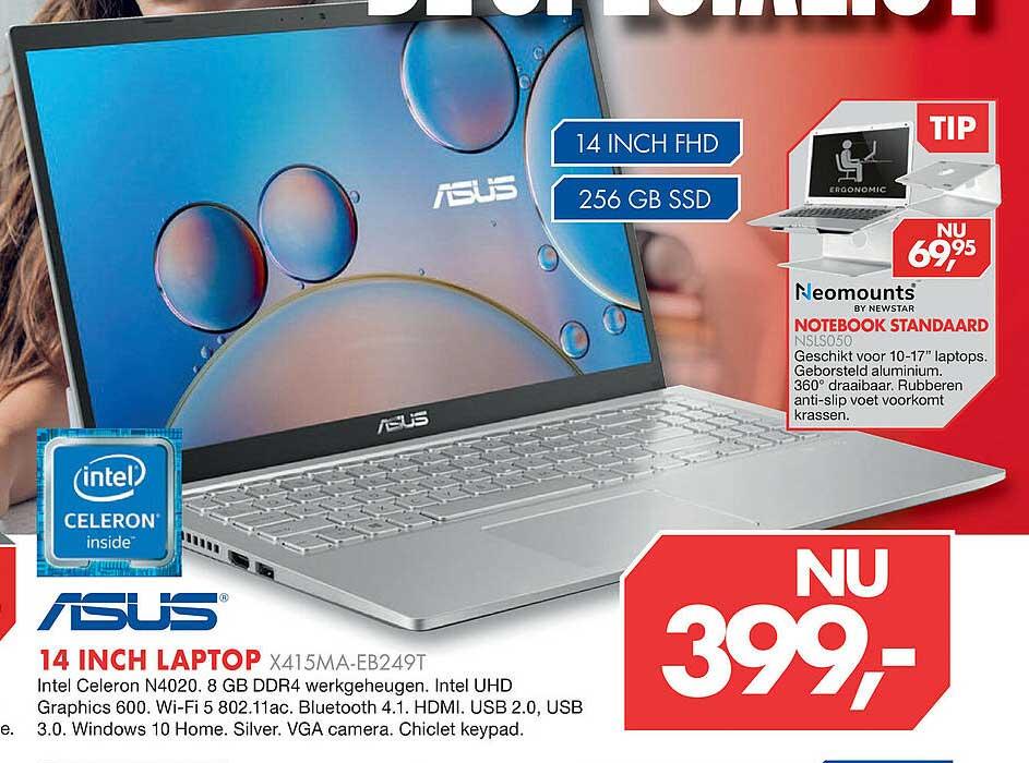 Vobis Asus 14 Inch Laptop X415MA-EB249T