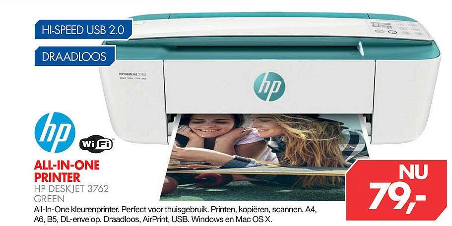Vobis HP All-In-One Printer HP Deskjet 3762 Green