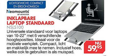 Vobis Inklapbare Laptop Standaard NSLS100