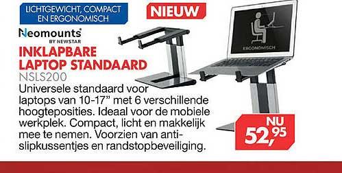 Vobis Inklapbare Laptop Standaard NSLS200