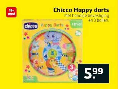 Trekpleister Chicco Happy Darts