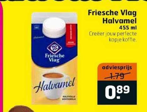 Trekpleister Friesche Vlag Halvamel 455 Ml