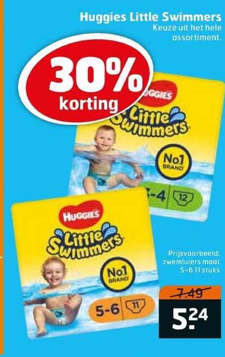 Trekpleister Huggies Little Swimmers 30% Korting