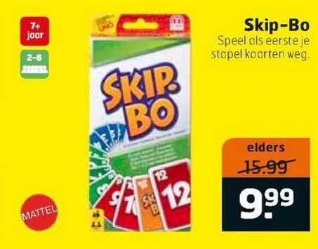 Trekpleister Skip-Bo