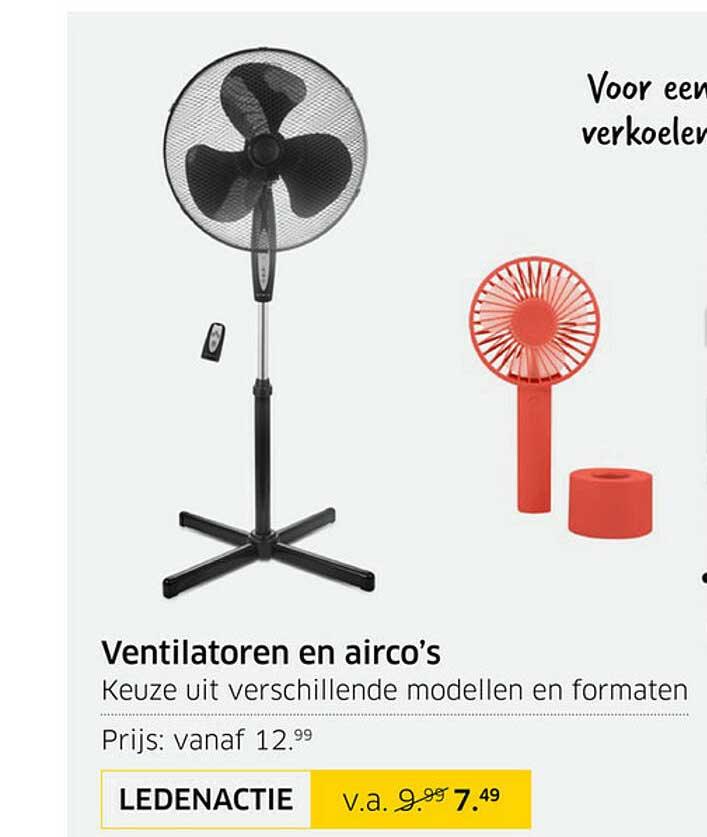 ANWB Ventilatoren En Airco's