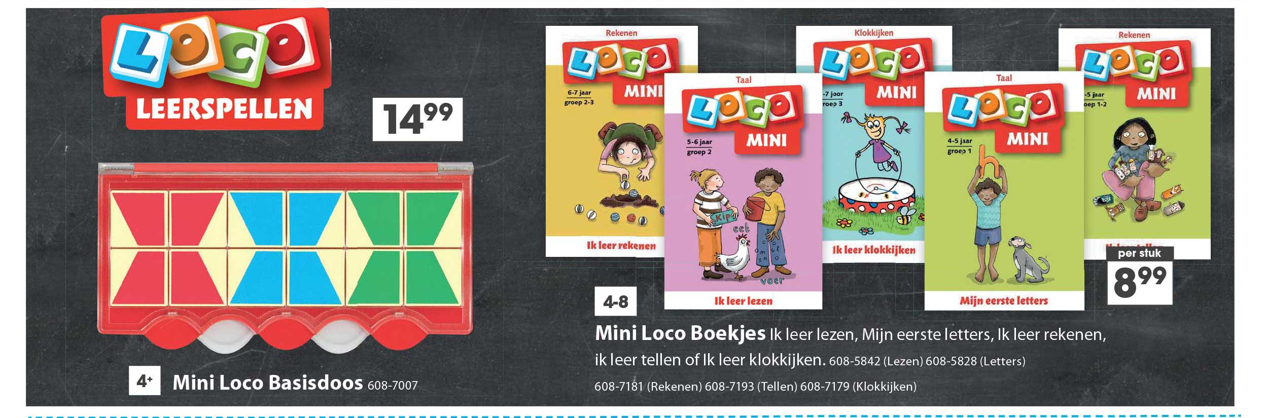 Top 1 Toys Mini Loco Boekjes