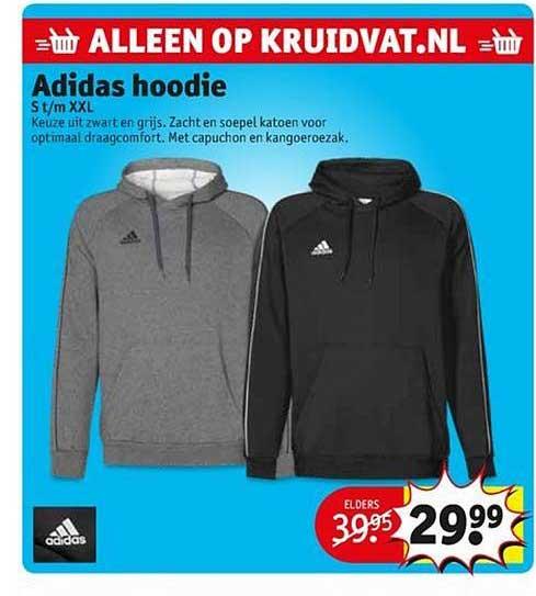 Adidas Hoodie Aanbieding bij Kruidvat