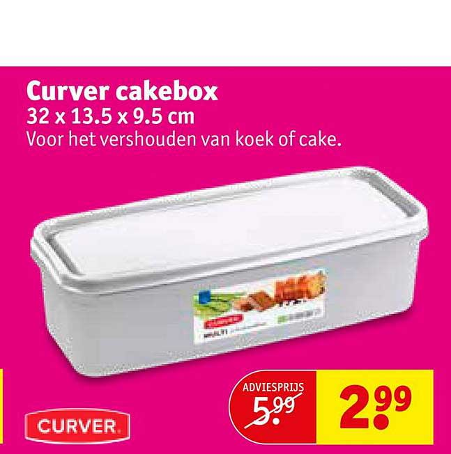 Kruidvat Curver Cakebox