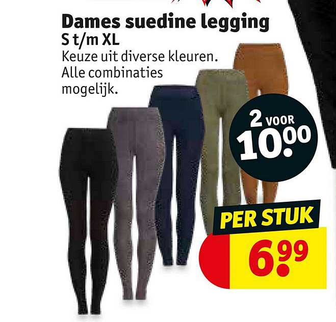 Kruidvat Dames Suedine Legging