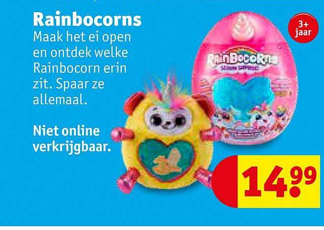 Kruidvat Rainbocorns Speelgoed