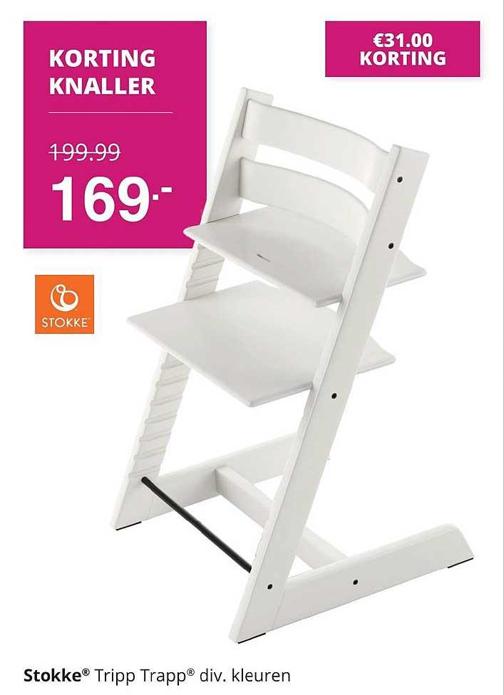 Baby & Tiener Stokke Tripp Trapp Kinderstoel €31.00 Korting