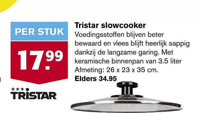 Hoogvliet Tristar Slowcooker