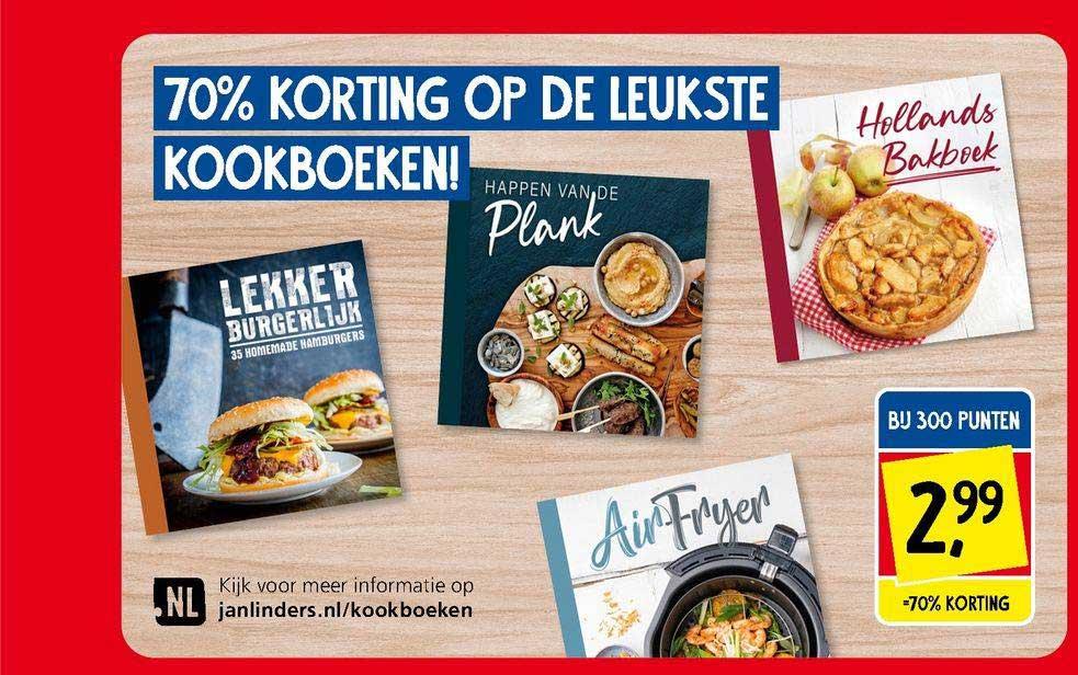 Jan Linders 70% Korting Op De Leukste Kookboeken