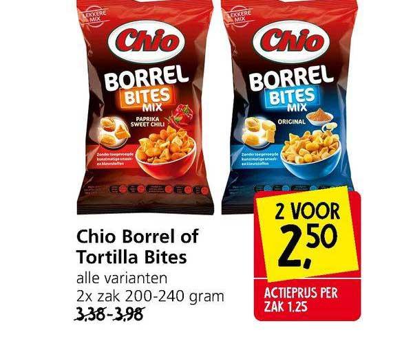 Jan Linders Chio Borrel Of Tortilla Bites