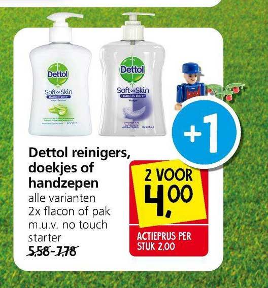 Jan Linders Dettol Reinigers, Doekjes Of Handzepen