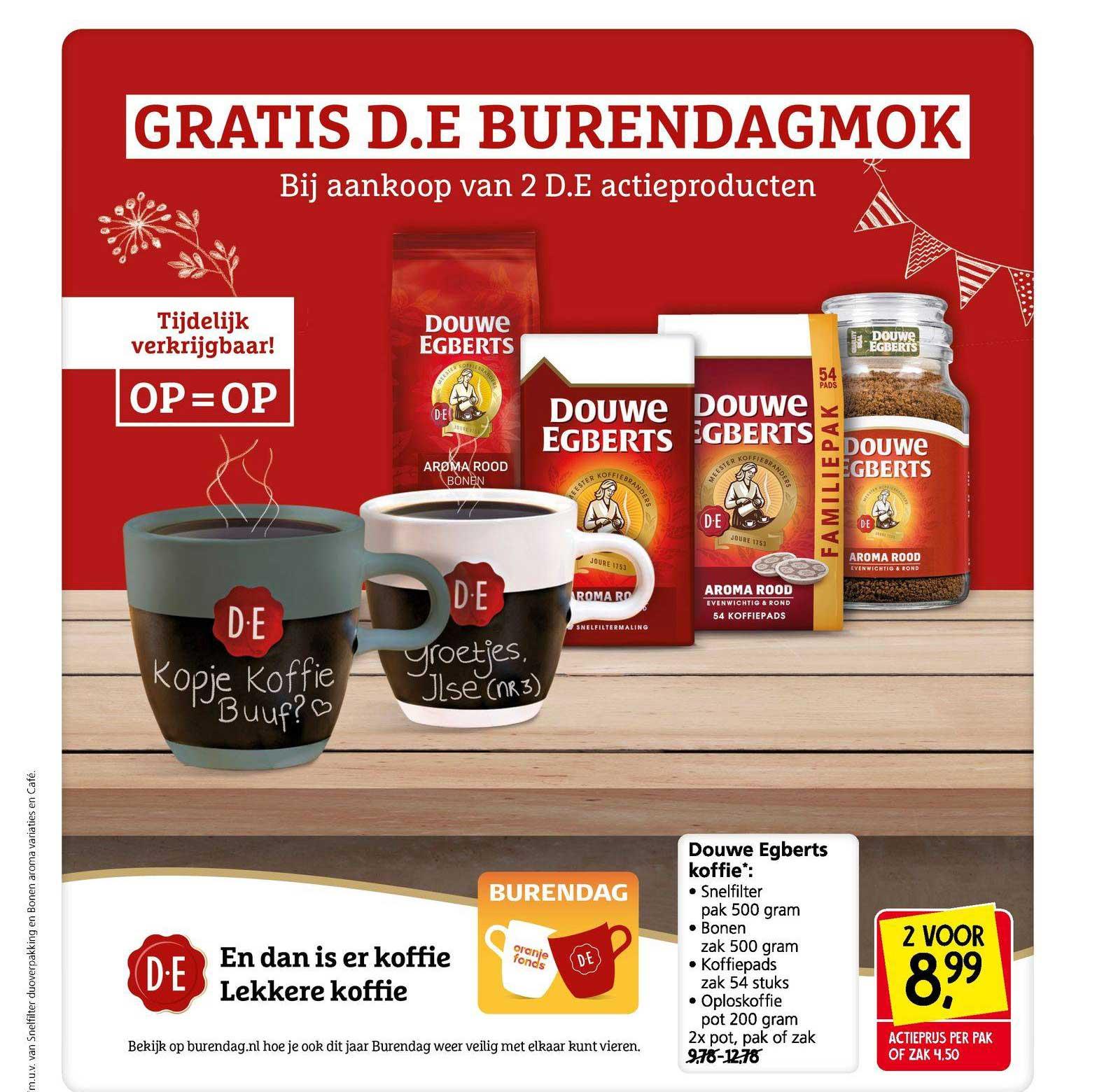 Jan Linders Douwe Egberts Koffie : Snelfilter, Bonen, Koffiepads Of Oploskoffie