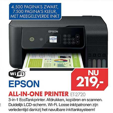 Vobis Epson All-In-One Printer ET-2720