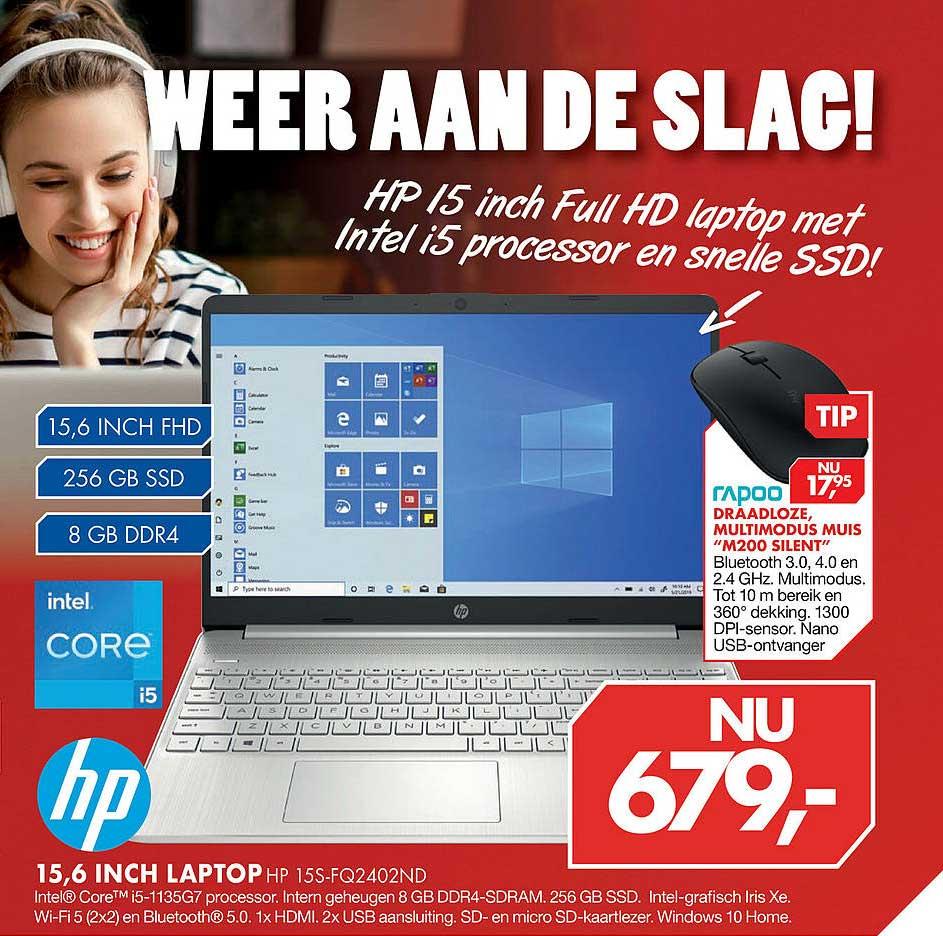 Vobis HP 15,6 Inch Laptop HP 15S-FQ2402ND