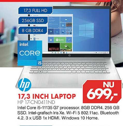 Vobis HP 17,3 Inch Laptop HP 17-CN0411ND