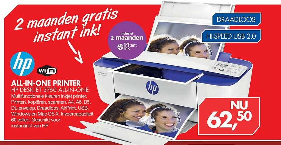 Vobis HP All-In-One Printer HP Deskjet 3760 All-In-One