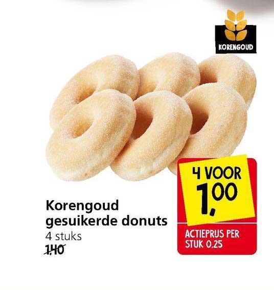 Jan Linders Korengoud Gesuikerde Donuts