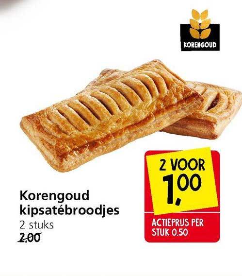 Jan Linders Korengoud Kipsatébroodjes
