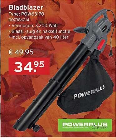 Heuts Powerplus Garden Bladblazer POW63170