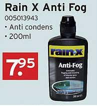Heuts Rain X Anti Fog