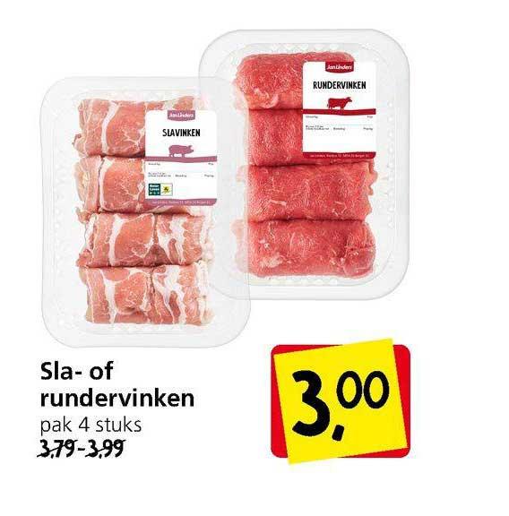 Jan Linders Sla- Of Rundervinken