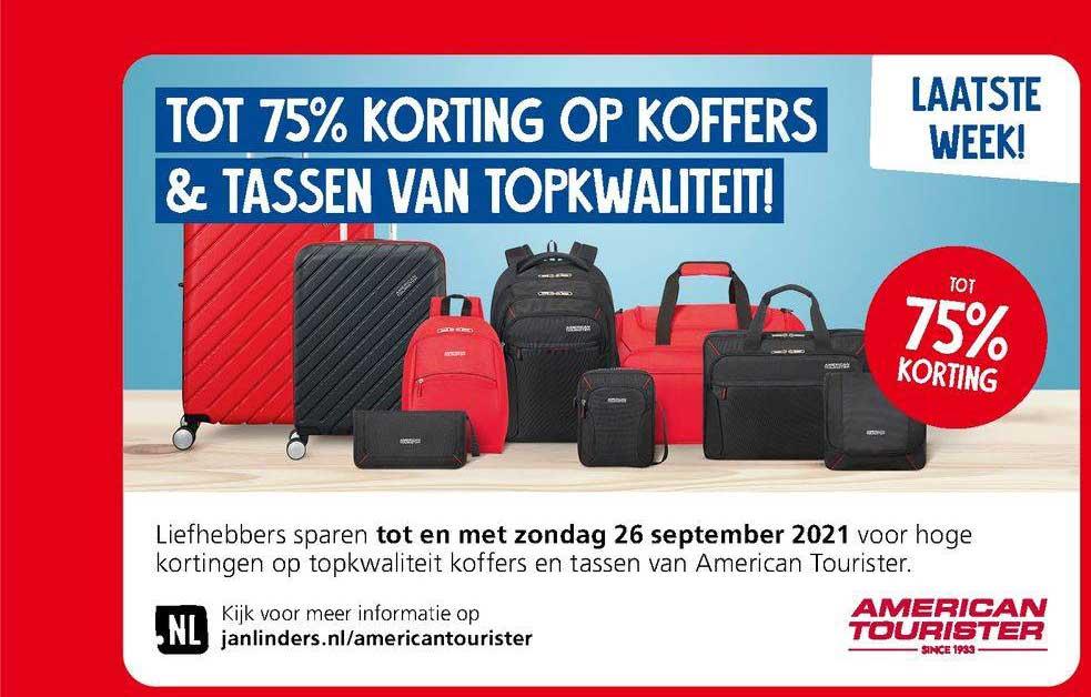 Jan Linders Tot 75% Korting Op Koffers & Tassen Van Topkwaliteit