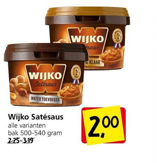 Jan Linders Wijko Satésaus