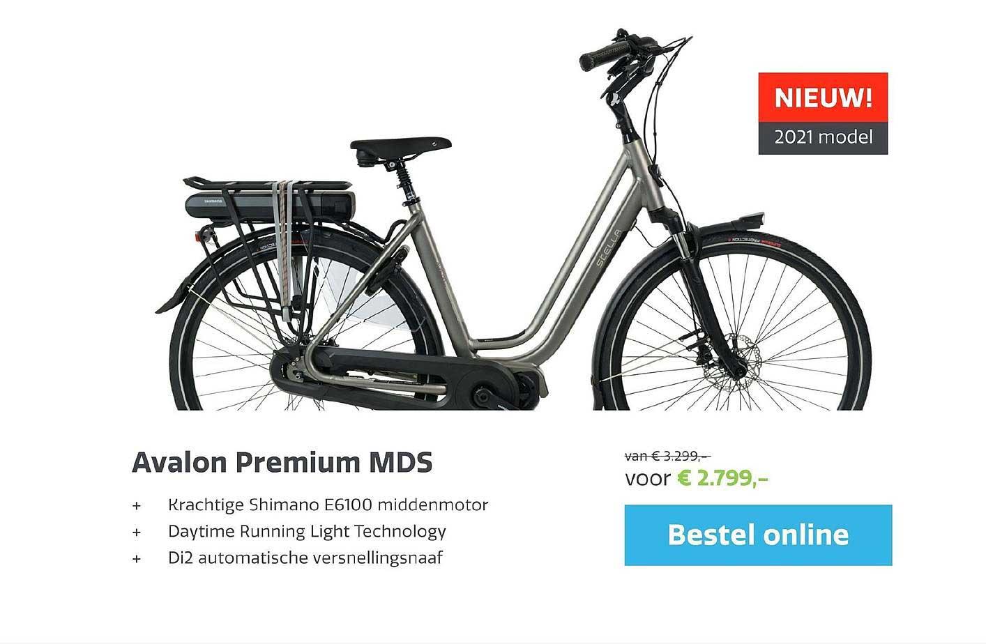 Stella Fietsen Avalon Premium MDS E-Bike