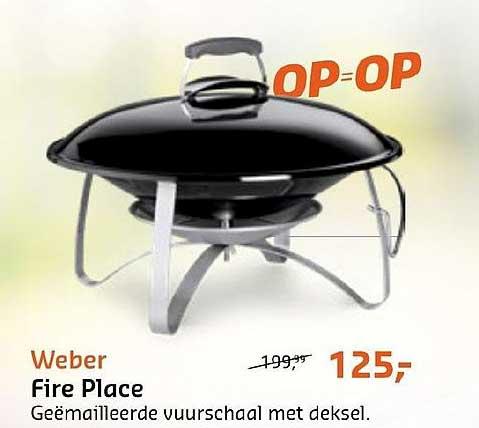 De Wit Schijndel Weber Fire Place Geemailleerde Vuurschaal