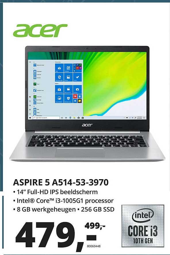 Paradigit Acer Aspire 5 A514-53-3970 Laptop