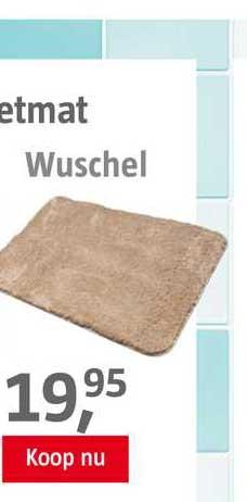 BAUHAUS Bad--Toiletmat Wuschel