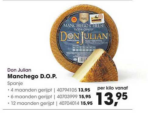 HANOS Don Julian Manchego D.O.P. Spanje