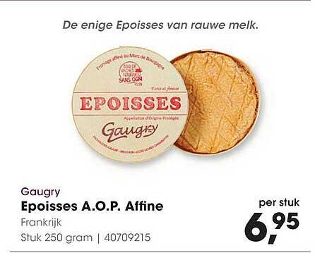 HANOS Gaugry Eposses A.O.P. Affine Frankrijk