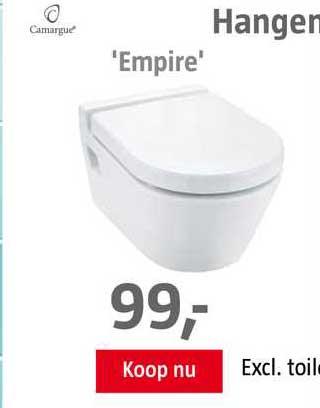 BAUHAUS Hangend Toilet 'Empire'