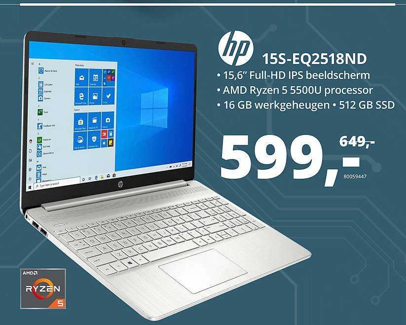 Paradigit HP 15S-EQ2518ND Laptop