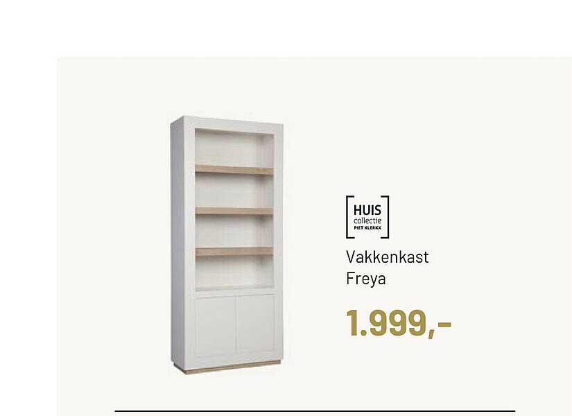 Piet Klerkx Huis Collectie Vakkenkast Freya