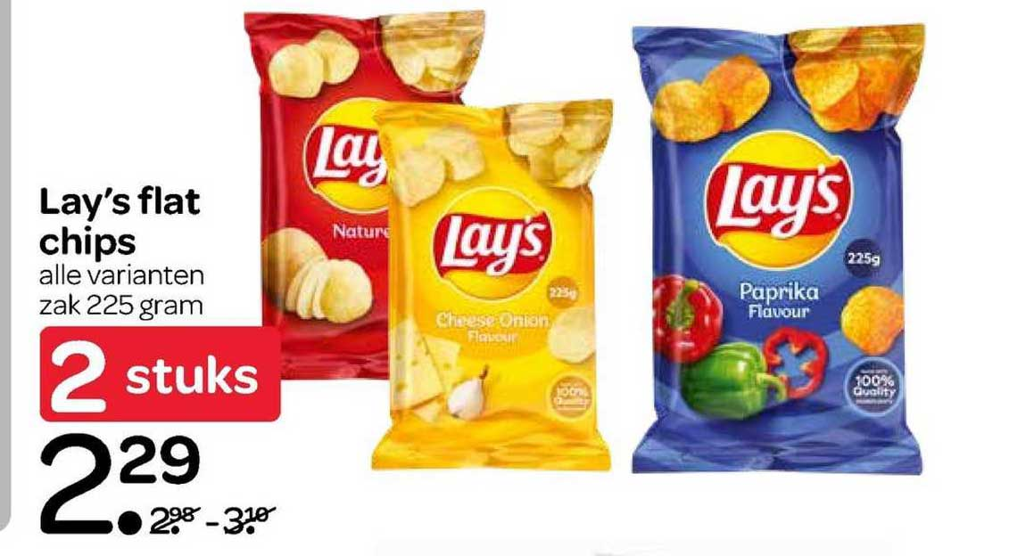 Spar Lay's Flat Chips