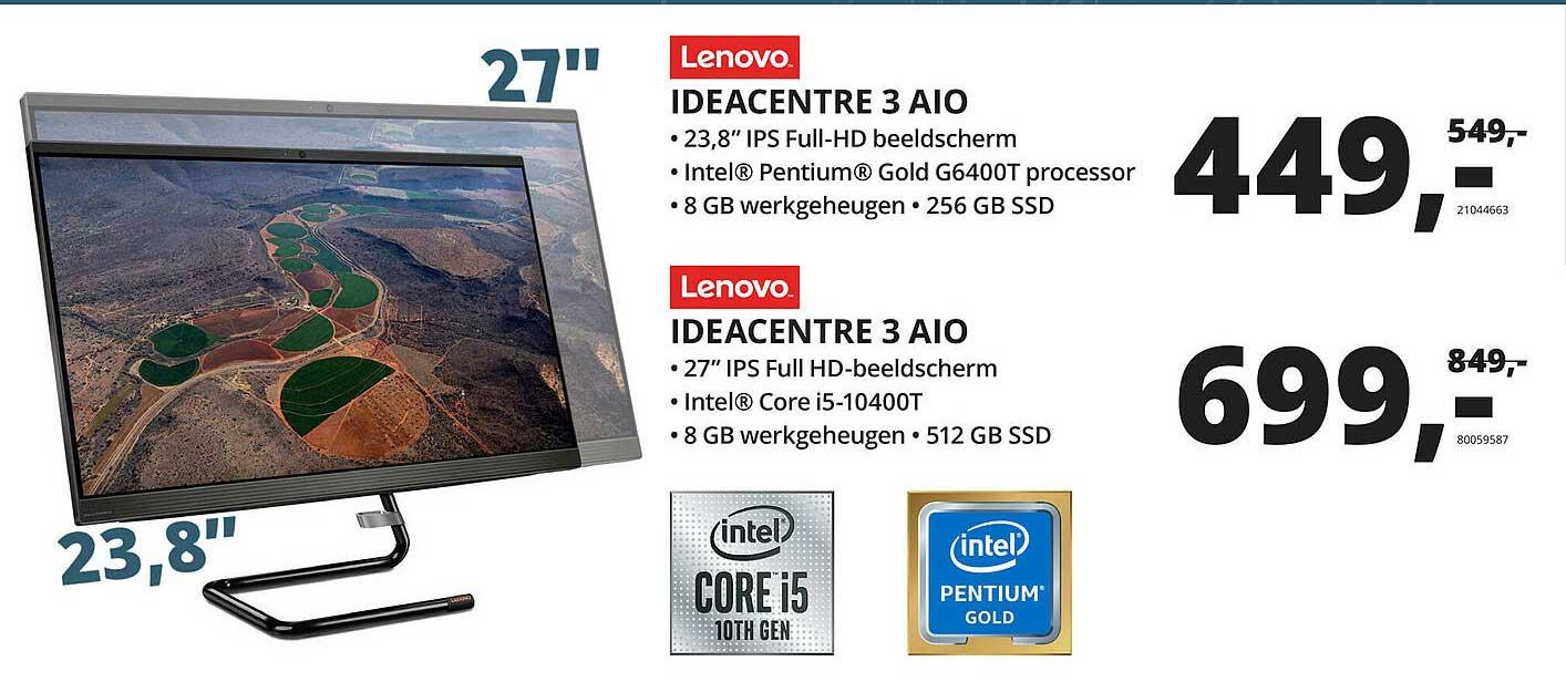 Paradigit Lenovo Ideacentre 3 AIO Monitor