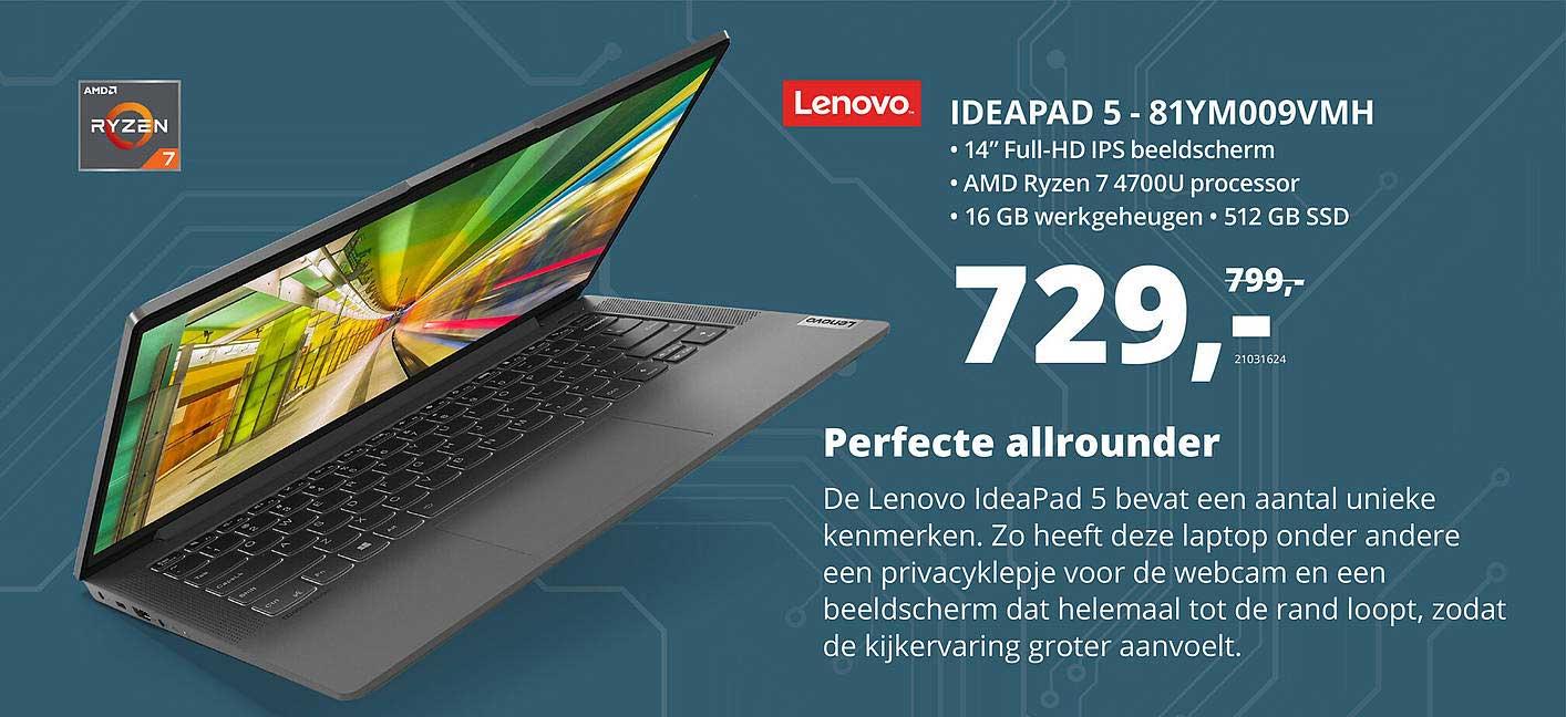 Paradigit Lenovo Ideadpad 5 - 81YM009VMH Laptop