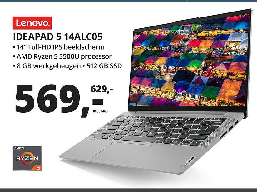 Paradigit Lenovo Ideapad 5 14ALC05 Laptop