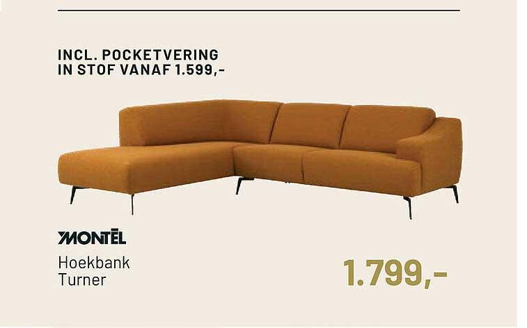 Piet Klerkx Montel Hoekbank Turner