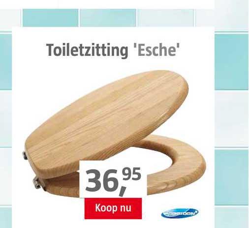 BAUHAUS Toiletzitting 'Esche'