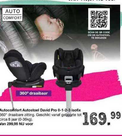 Van Asten Autocomfort Autostoel David Pro 0-1-2-3 Isofix